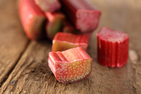 rhubarb slices photo