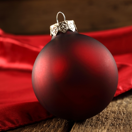 red bauble photo