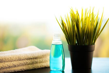 Spa Relax And Healthy Care. Healthy Concept. Natural domestic products for skincare.