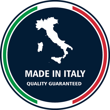 Made in Italy quality stamp. Vector illustration
