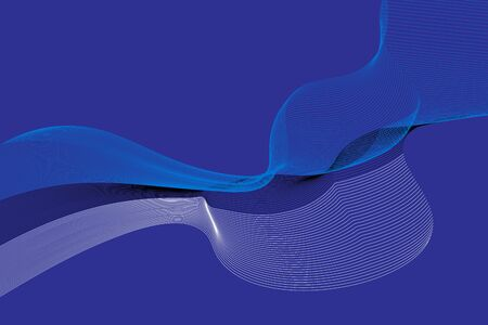 Abstract lines vector background. Colours of Estonia flag. Eps10. Ilustrace
