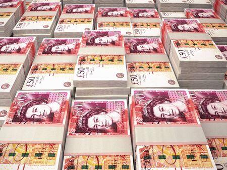 GBP. Fond de macro de livres sterling. L'argent du Royaume-Uni. Londres