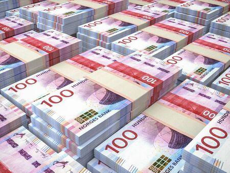 Currency of Norway. Business background. Oslo. NOK. Norwegian krone.