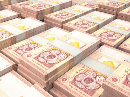Money of Malaysia. Malaysian ringgit bills. MYR banknotes. 10 ringgits. Business, finance, news background. 免版税图像