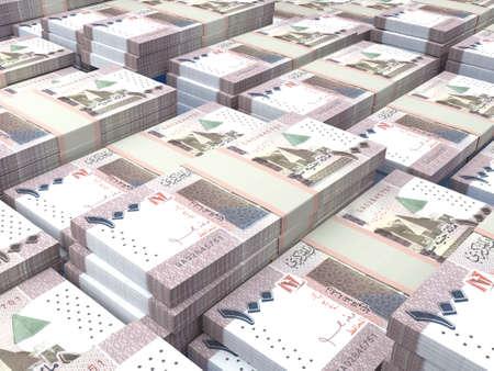 Money of Sudan. Sudanese pound bills. SDG banknotes. 100 pounds. Business, finance, news background.