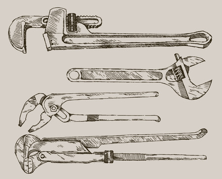 adjustable: adjustable wrenches