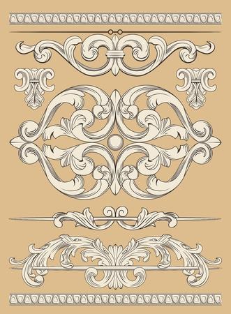 baroque ornament