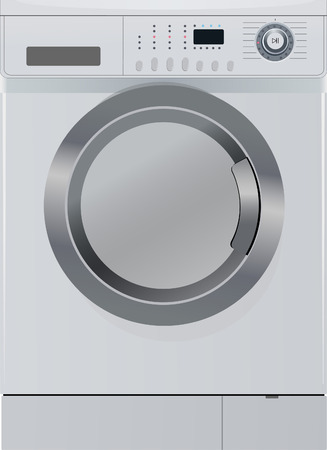 geschirrsp�ler: Waschmaschine Illustration