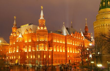 The evening Kremlin. Russia. Moscow Stock Photo - 3627436