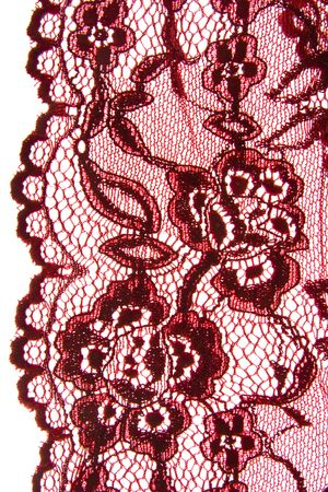 Close-up of a lovely bit of black lace, good for textures and backgrounds. 写真素材