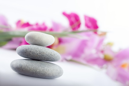 stones for spa therapy Stock Photo