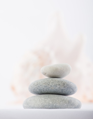 stones for spa therapy 写真素材