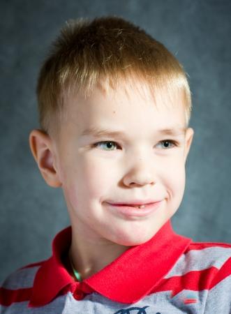 little blond boy Stock Photo - 14695038