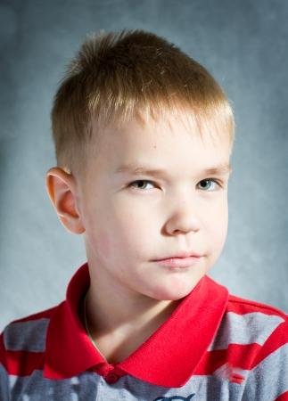 little blond boy Stock Photo - 14695037
