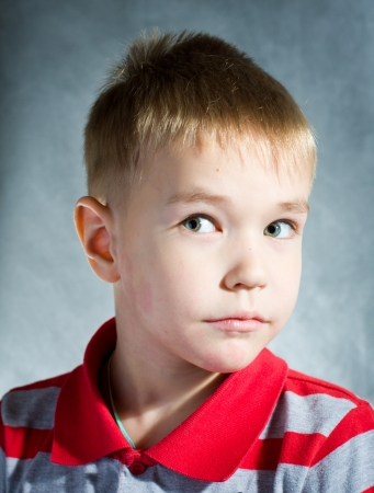little blond boy Stock Photo - 14695036