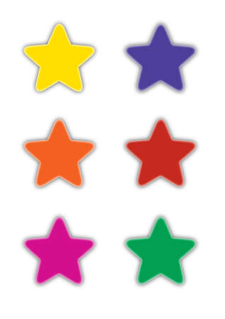 Star icons isolated on white Stock Vector - 14791633