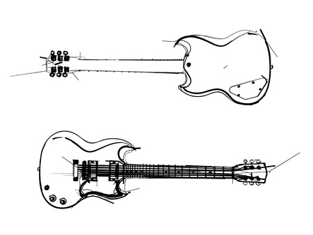 hollow body: electric guitar