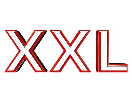 wariety: modern xxl sign Stock Photo