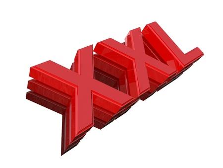modern xxl sign Stock Photo