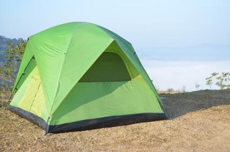 campsite at khaoko in thailand photo