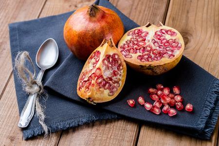 fruits juice: pomegranate fruit Stock Photo