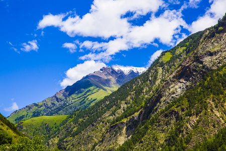 dagestan: Caucasus mountains in summer