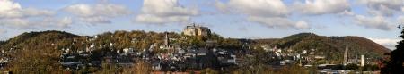 Panorama of Marburg Imagens