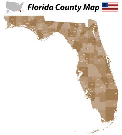 La Bandera De Miami Es Una Ciudad De Florida, Estados Unidos ...