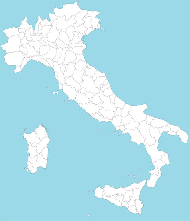turin: Map of Italy