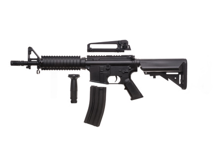 Large picture of an isolated weapon AR-15