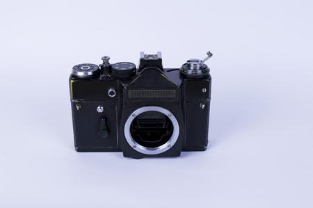 closeup of camera Imagens
