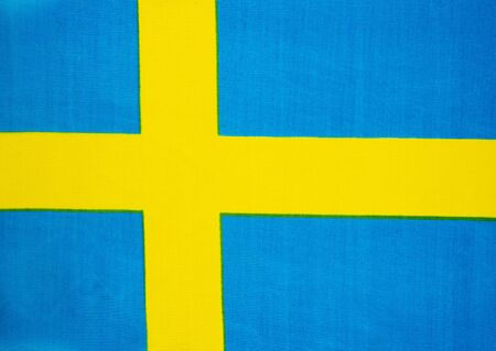 State flag of Sweden. National. Presidential elections. Parliament.