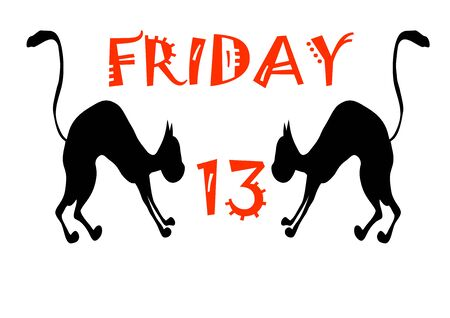 Template for the text for the date Friday 13. Halloween. Horror. Place for text. Background image. Place for text. Calendar date. Poster. Booklet. Promotional event. Greeting card.