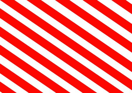 Red stripes on a white background template for text. Attention traffic is prohibited. Stop Danger. Poster. Advertising on the billboard. Vector background image. Warning sign. Fence tape.