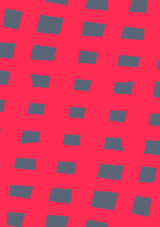 Intersection of red stripes on a dark background.