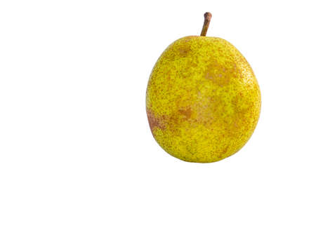 Harvest pear bear fruit on a white background. Pear drink. Fruit shop showcase. Gardening. Agriculture. Place for text. Dried fruits. Background image. Poster. Garden fruits. Duchess.