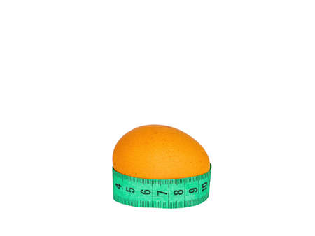 Measure the size of a chicken egg with a meter.