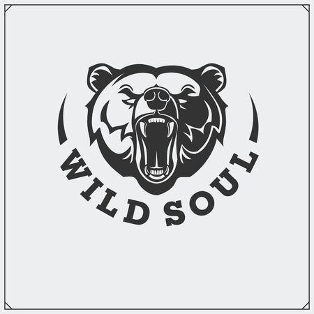 The emblem with bear.