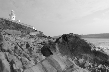 youghal: Youghal, black and white
