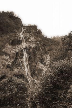 powerscourt waterfall photo
