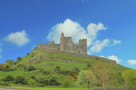 The Rock of Cashel  - Co  Tipperary, IrelandThe complex has a character of its own, unique and native, and is one of the most remarkable collections of Celtic art and medieval architecture to be found anywhere in Europe  photo