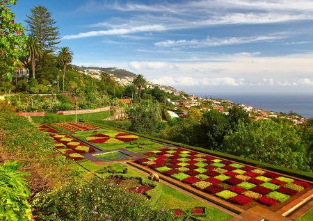 Portugal, Madeira, Funchal, Botanical garden