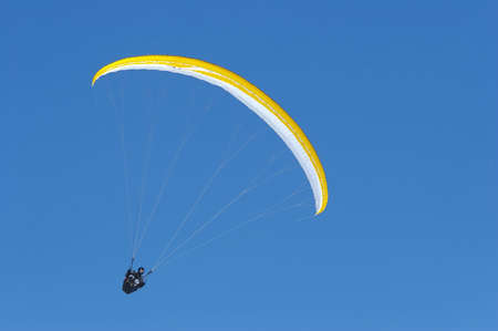 continuum: nice yellow parachute in the sky