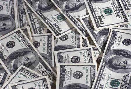 avidity: Heap of dollars of the USA