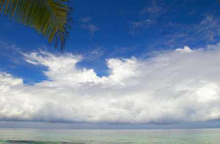 Sky and Clouds in the Indian Ocean, Maldives Stock Photo - 12623966