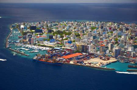 Male,Capital of the Maldives Republic Stock Photo