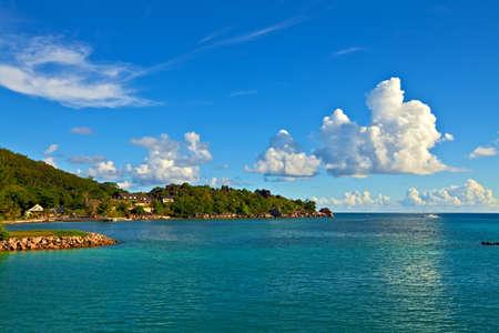 ladigue: Dream seascape  view, Seychelles, LaDigue island