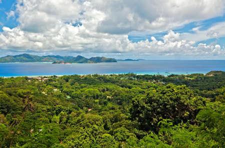 ladigue: Seascape view, Seychelles, LaDigue island