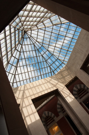 Glass dome of a building Editorial
