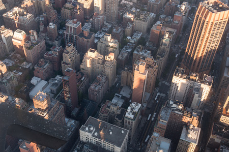 Top view of Manhattan, New York City Reklamní fotografie